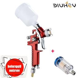 1.0/0.8mm Nozzle HVLP Gravity Feed Professional For Painting