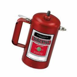 Milwaukee Sprayer 1000R Enameled Steel Sprayer Model-A Red,