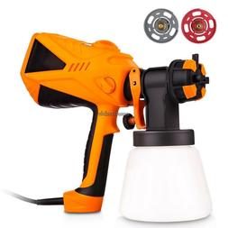 120V 600W Electric Paint Spray Gun Tools House Room Car Pain