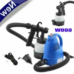 120V 600W Paint Sprayer Electric Spray Gun Variable Flow Pai