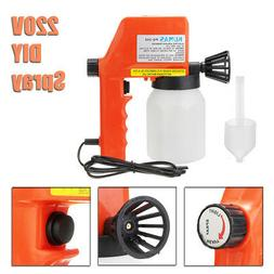 220V Electric Airless Spray Paint Painting Sprayer Gun For O