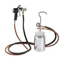 Astro 2PG7S 2 Quart Pressure Pot with Gun and Hose Paint and