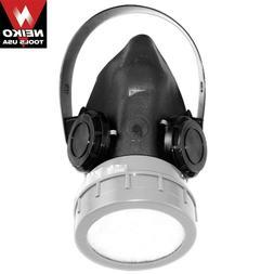 3 Neiko Respirator w/ Anti Paint Dust Spray Air Fliter Cartr