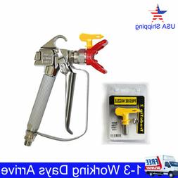 3600PSI AIRLESS PAINT SPRAY GUN W/TIP&TIP GUARD FOR TITAN WA