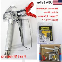 3600psi airless paint spray gun w tip
