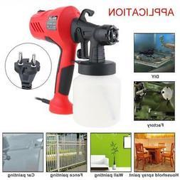 400W Electric HVLP Paint Sprayer Gun Spray Pattern Control f