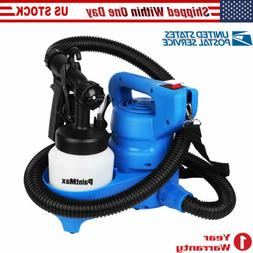 3 Way Nozzle Electric HVLP Paint Sprayer Painter Spray Gun F