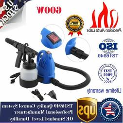 600W Electric Paint Spray Gun House Auto Room Painting Suppl
