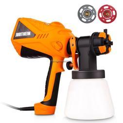 600W Electric Paint Sprayer Gun Spray Pattern & Flow Control