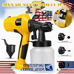 600W Electric Paint Sprayer Hand Held Spray Gun Painter Pain