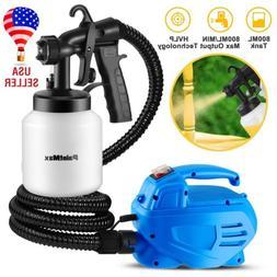 650W Electric Painting Paint Sprayer Gun 800mL 3-ways Nozzle