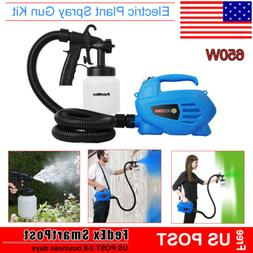 650W Electric Zoom Paint Painting Sprayer Fence Spray Gun Ha