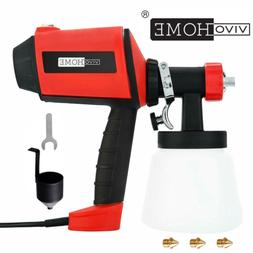 VIVOHOME 900ml Electric Handheld HVLP Painter Gun Spray Pain