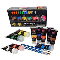 Acrylic Paint Studio Set 12 Extra Large 75 ml Professional G