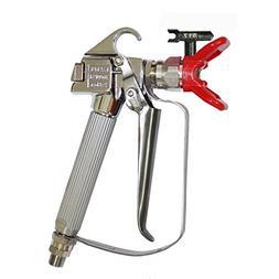 Airless Paint Spray Gun, High Pressure 3600 PSI 517 TIP Swiv
