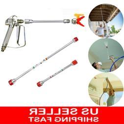 Airless Paint Spray Gun Extension Pole Sprayer Tip Rod Titan