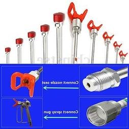 Airless Paint Spray Gun Extension Pole For Tip Sprayer US Ho