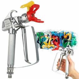Airless Paint Spray Gun, High Pressure 3600 PSI 517 TIP Swiv