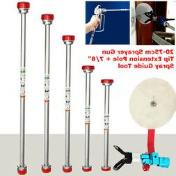 Airless Paint Sprayer Gun Pole Rod 8'' 12'' 20'' 26'' 30'' &
