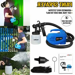 Electric Easy Paint Spray Gun Painter HVLP Through House Pai