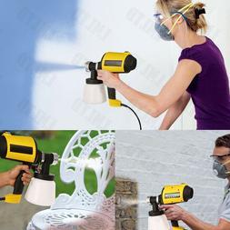 Electric Easy Paint Spray Gun Painter Zoom Through CAR House