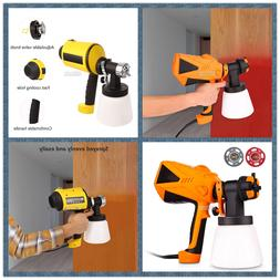 Furniture Electric Spray Gun 800ml/min Wall Painting Sprayer