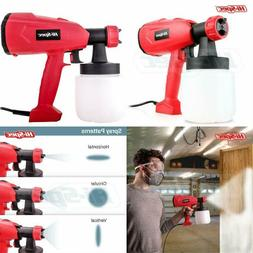 Electric Paint Spray Gun Handheld Sprayer with Canister Furn