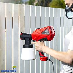 Electric Paint Sprayer Gun Handheld Sprayers Portable For In