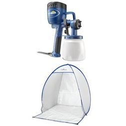 Finish Max Fine Finish Sprayer + Spray Shelter