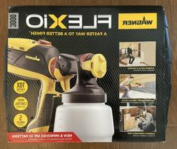 Wagner Flexio 3000 HVLP Paint Sprayer with Case, Interior Ex