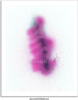 Graffiti Spray Paint Background Art/Canvas Print. Poster, Wa
