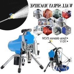 High Pressure 395 Airless Paint Spray Gun Sprayer Spraying M