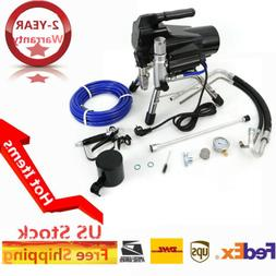 High Pressure Airless Wall Paint Spray Gun Professional Spra