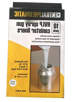 HVLP Spray Gun Liners, 10 Pack from TNM