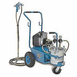 BINKS 98-3164 HVLP Paint Sprayer, 1 Stage, 2.8 gal.