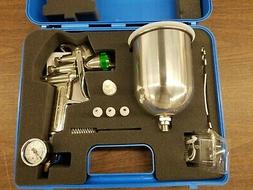 HVLP PAINT SPRAY GUN 1.5MM WITH ACCESSORIES NEW UNUSED IN CA
