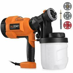 Hvlp Paint Sprayer 800ml/min, Electric Gun With 3 Patterns,
