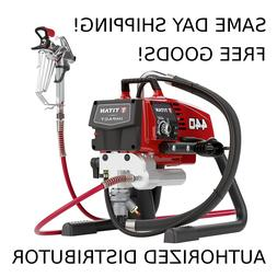 Titan Impact 440 Skid Airless Paint Sprayer 805-000 $25 Free