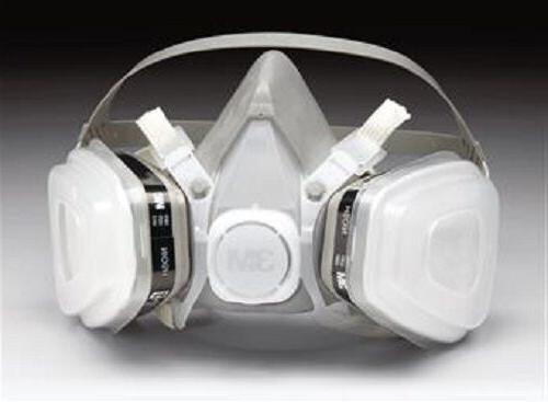 07191 respirator used when spray paint applications