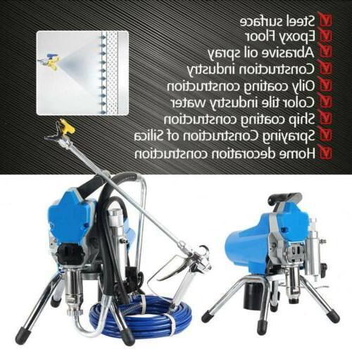 110V Commercial High Pressure Airless Spray Paint Gun