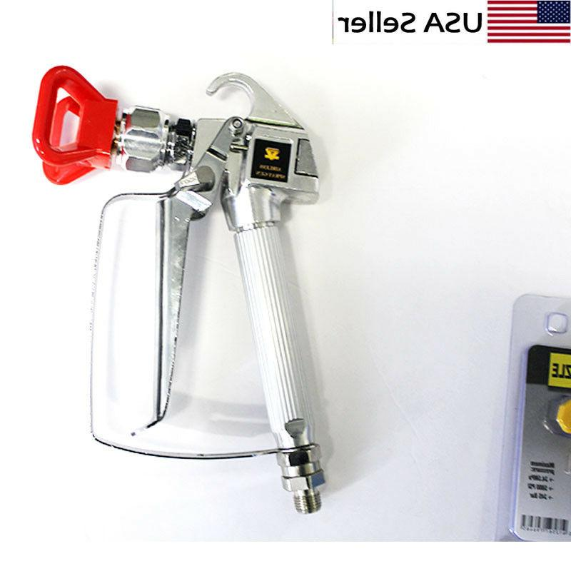 3600PSI Spray Gun w/ Sprayers US Fast