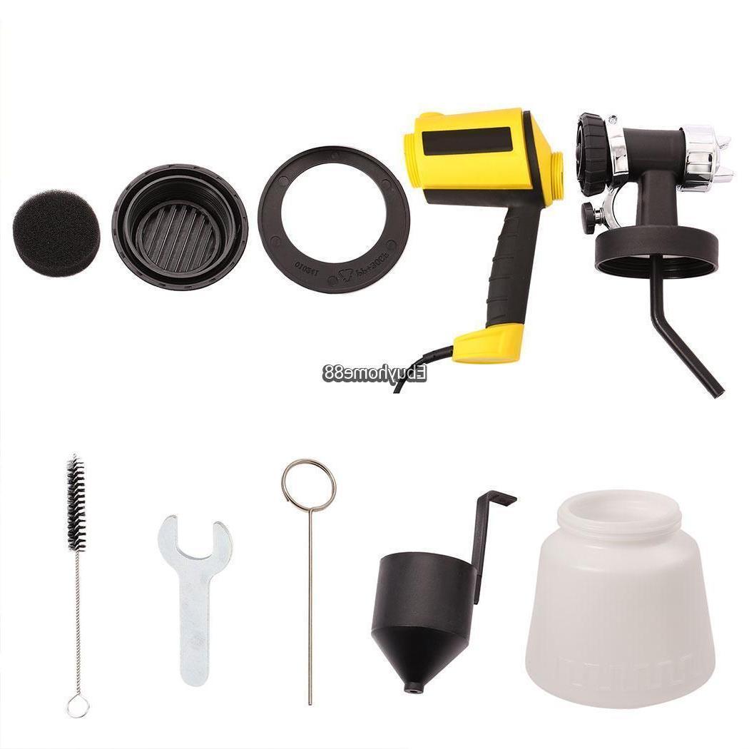 400W Electric Paint Spray Gun Painting Supplies Sprayers Kits