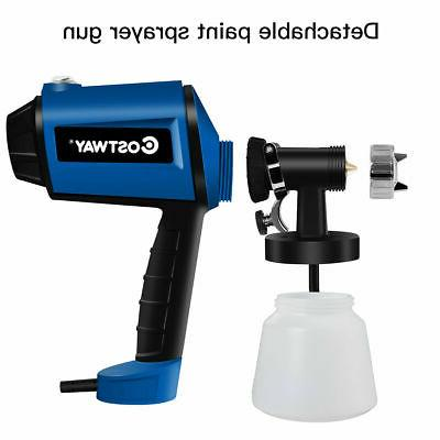 450W Electric HVLP Paint Sprayer 3-ways Gun