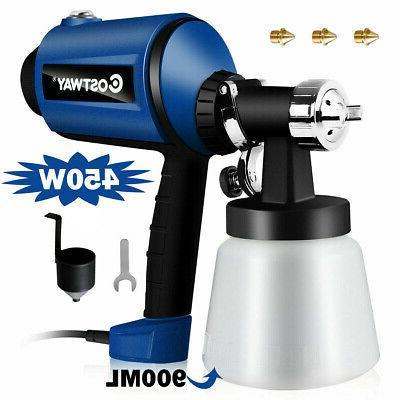 450w electric hvlp paint sprayer handheld 3