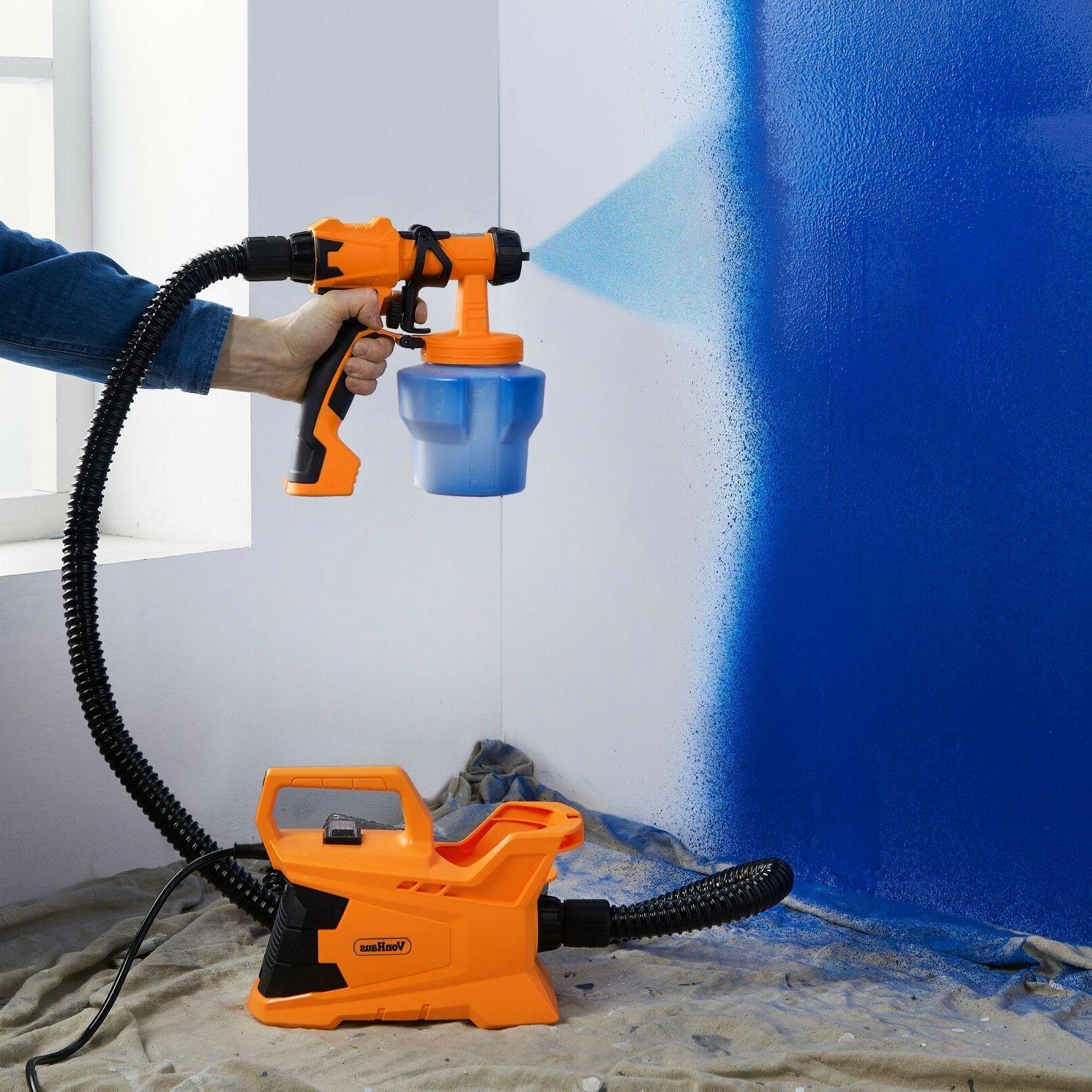 VonHaus 6.5A Paint Sprayer Station Spray Pattern