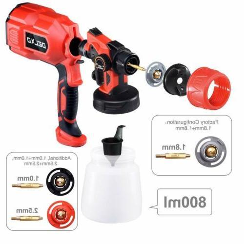 HALULU 800ml Paint 550W Patent Width Control Knob
