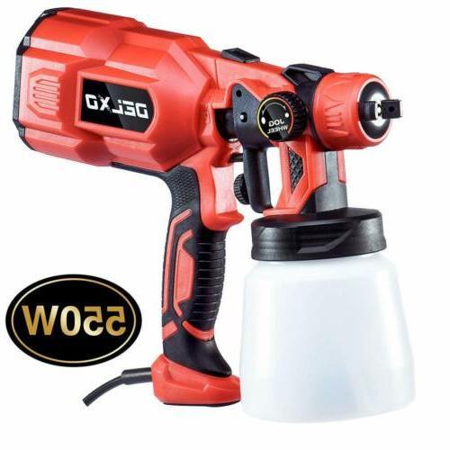 800ml paint sprayer 550w high power hvlp