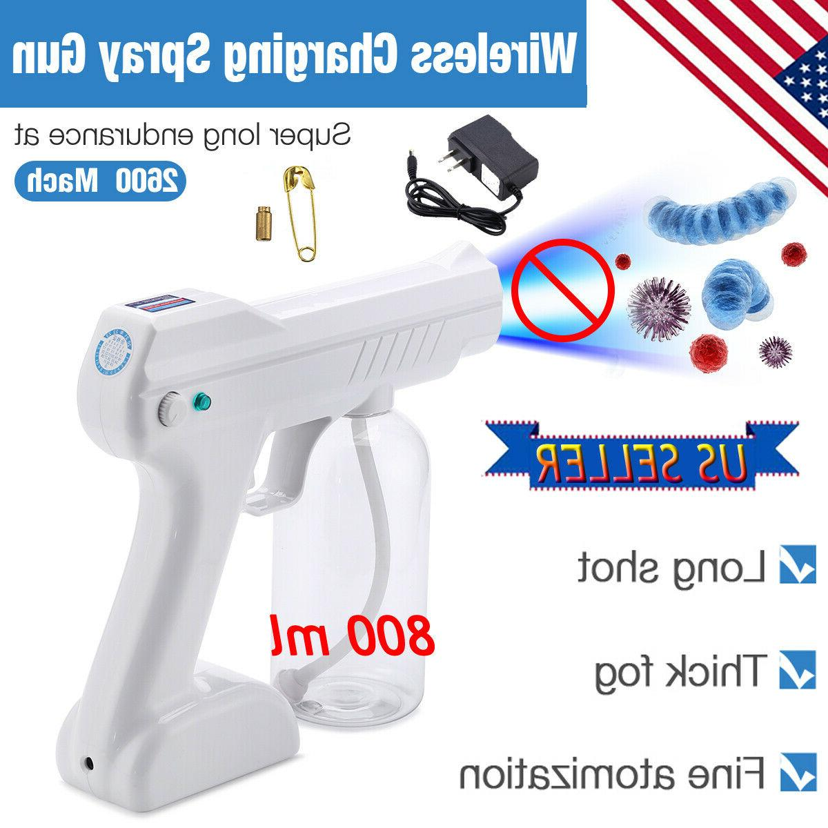 800ml portable blue light nano steam spray