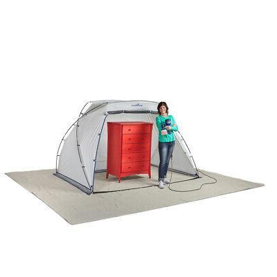 HomeRight W x 6 ft. PE Spray Paint Shelter 1