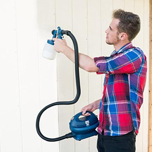Paint Zoom Pro Handheld Electric Spray | watt Gun for & Exterior | HVLP | 3
